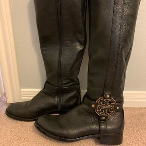 Tory Burch Black Boots Size 7